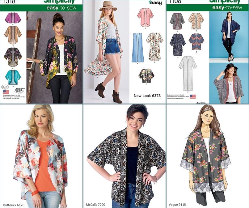 Coco\'s Loft: New Look 6378 - A Kimono shrug-gy top!