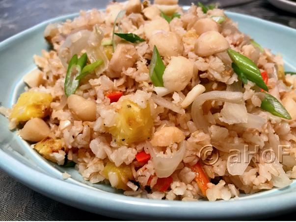 Pineapple Macadamia Rice