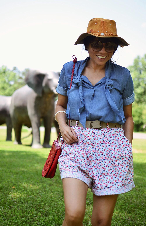 Safari fashion style