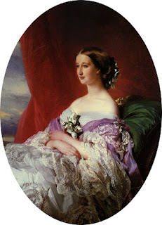 Portrait de l'Impératrice Eugénie par Winterhalter