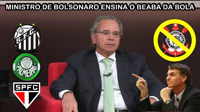 MINISTRO DE BOLSONARO ARREBENTA COM O CORINTHIANS - ELE FOI LONGE DE MAIS