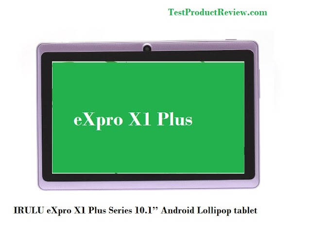 IRULU 10.1'' Android Lollipop tablet PC - eXpro X1 Plus Series