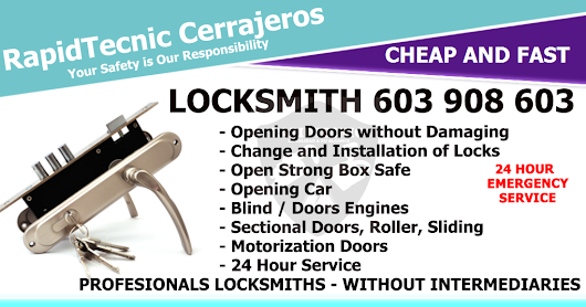 Locksmith La Pedraja de Portillo 603 908 603
