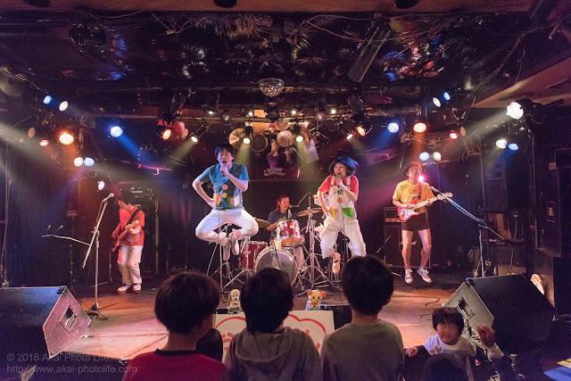シルエレゆき birthday 企画ライブのおかさんといっしょのコピーバンドの写真