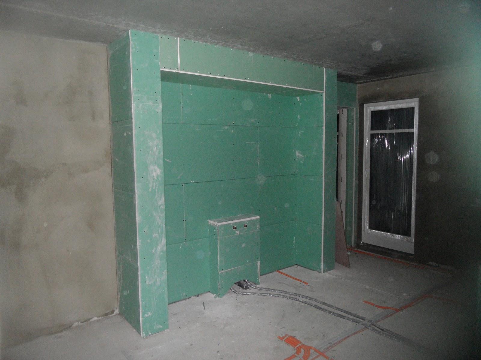 Bautagebuch Jette Joop Europe life Trockenbau im Badezimmer  Dachboden