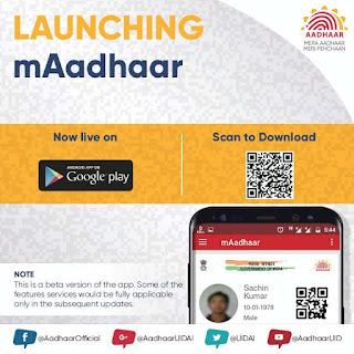 "Official Aadhaar App ""mAadhaar"" now available for Android"
