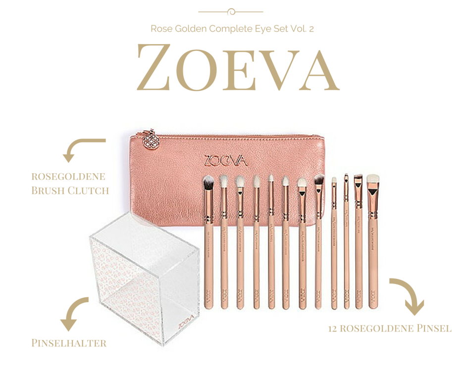 Zoeva Rose Golden Complete Eye Set Vol. 2