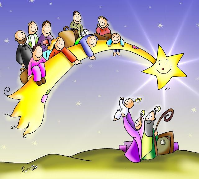 rencontres de caté autour de l'Avent et Noël