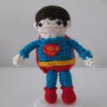 patron gratis superman amigurumi | amigurumi free pattern superman