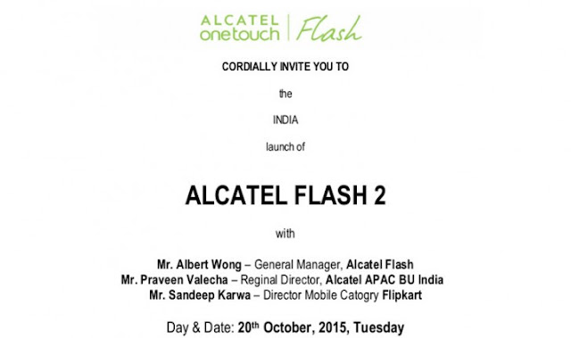 Alcatel OneTouch Flash 2 Smartphone Launched in India