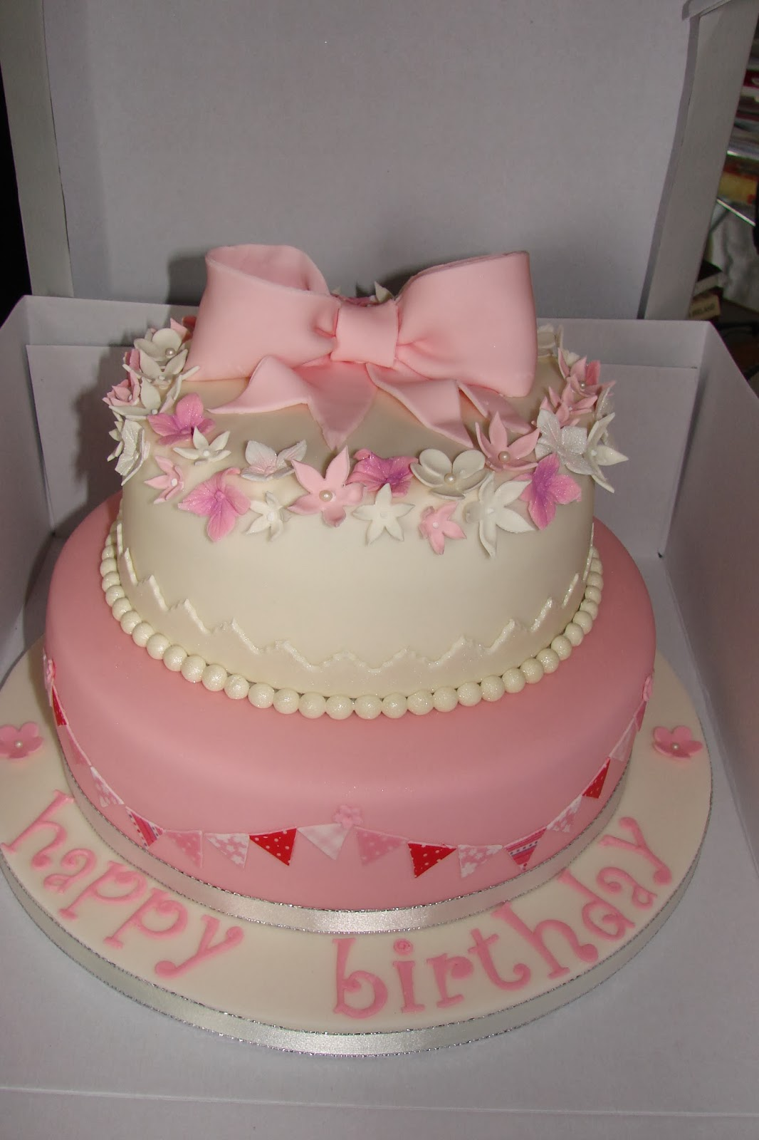 Sweet and Fancy 70th birthday cake