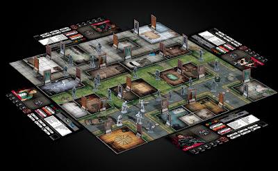 Z War One, il tavolo di gioco