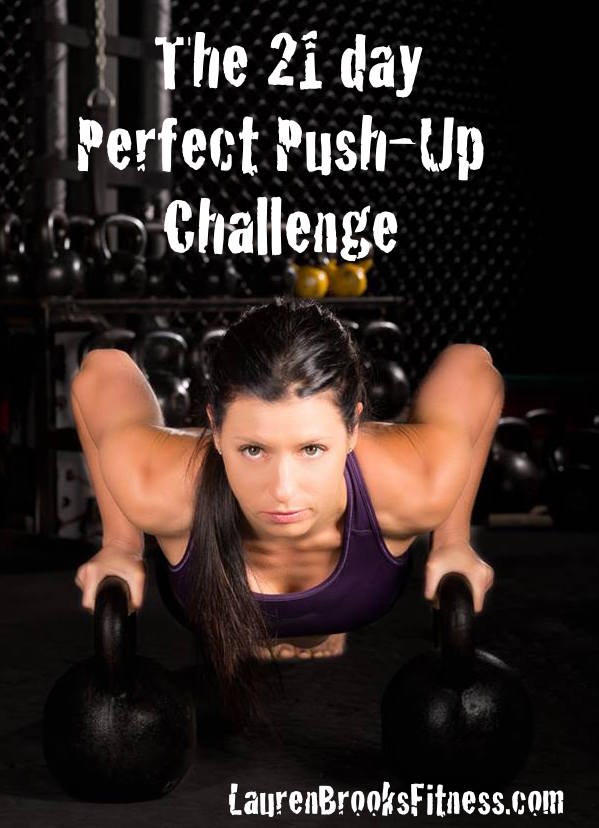 The Perfect Push-Up Challenge with Lauren Brooks