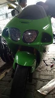 Kawasaki ZXR 750 / ZX7 thn 2000 Real Bigbike,  Bodynya Bongsor Nan Menggoda Mulusss,  Siap Gass