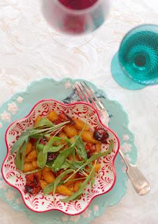 Receta: Ñoquis de batata y cúrcuma (Opción sin gluten).