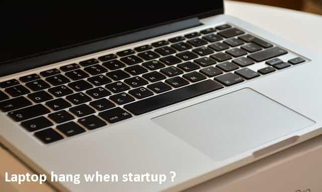 Laptop macet startup