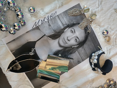 Yoro Creations jewelry flatlay for Morgan