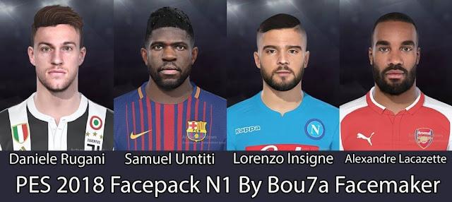 New Facepack N1 PES 2018
