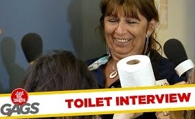 Post-Bathroom Interview – Just For Laughs Gags
