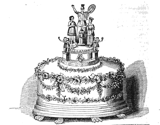 The Royal Wedding Cake History And Other Thoughts