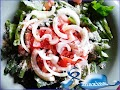 Arabic Salad with Kishk