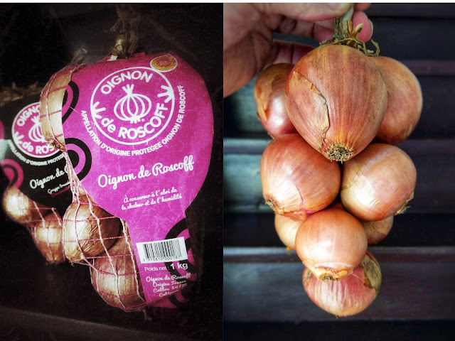 Roscoff Zwiebeln aus Frankreich