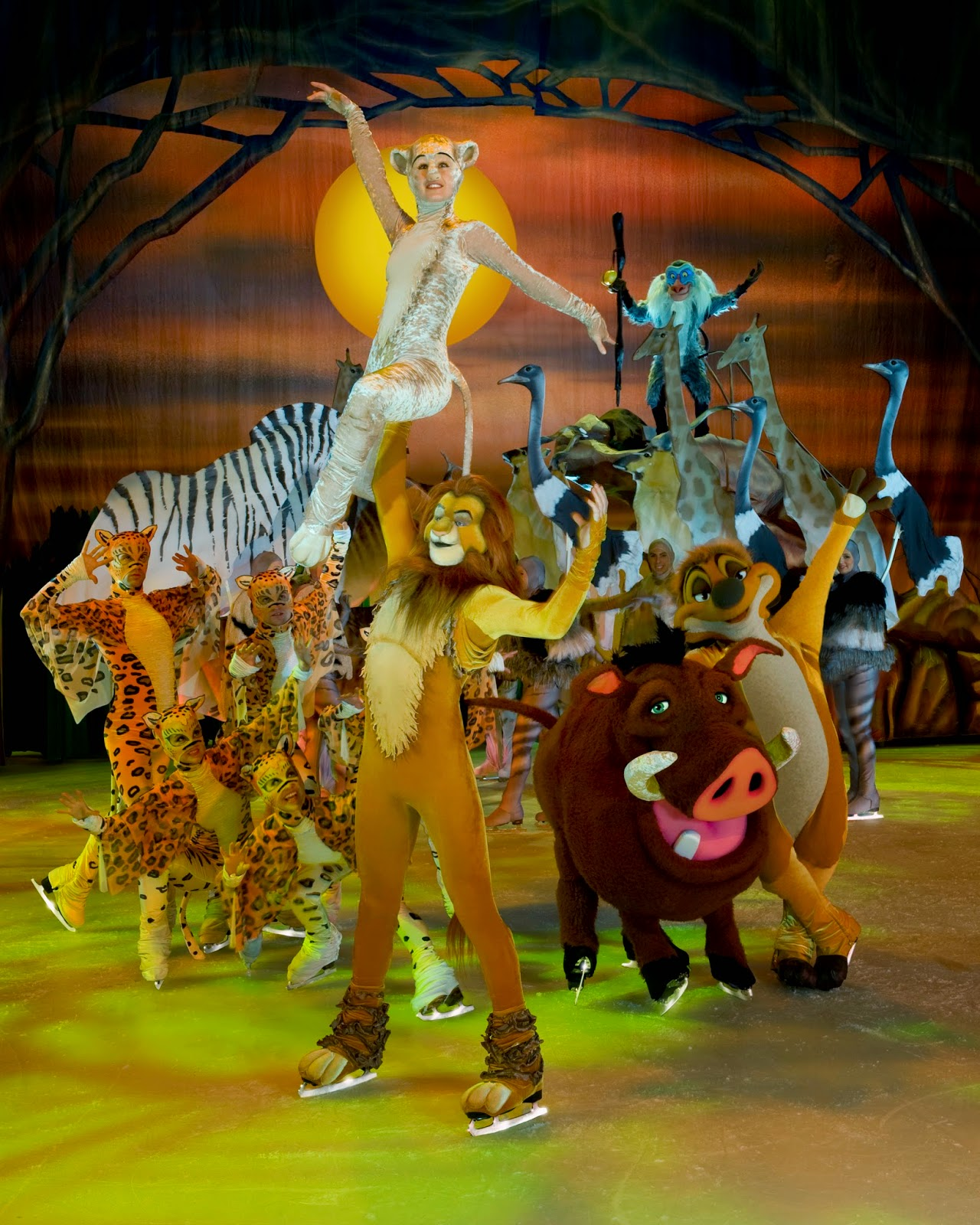 Disney On Ice: Treasure Trove Lion King