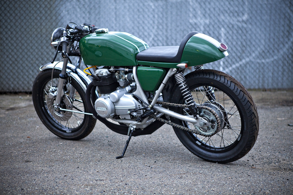 Cafe Racer Special: Honda CB 400 F Cafè Racer by Twinline