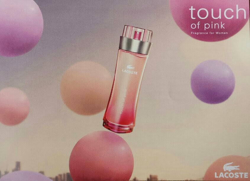 Lacoste - Touch of Pink - The Fragrance Shop Discovery Club Classics Collection
