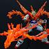 """Custom Build: HGBF 1/144 Try Burning Gundam """"Burning Burst Mode"""""""