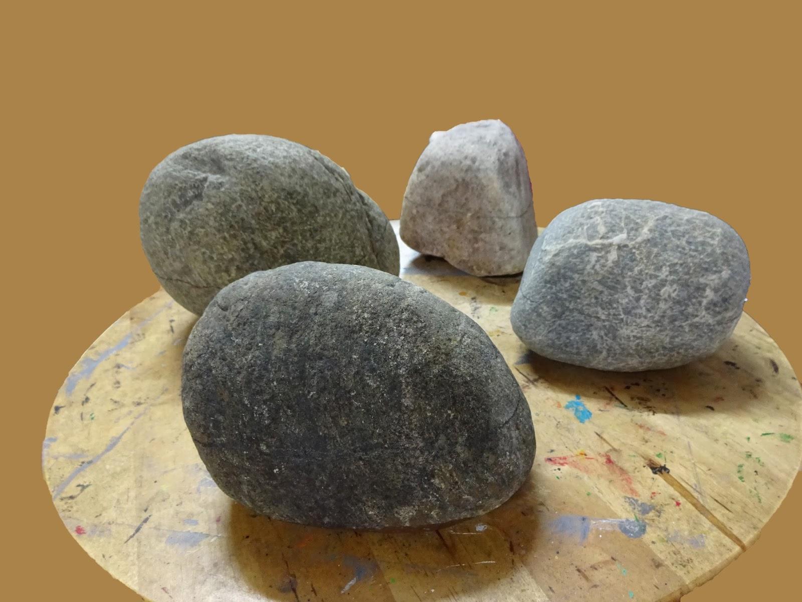 Piedras pintadas a mano como pintar piedras con cestas de for Donde conseguir piedras para pintar