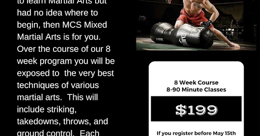 MCS Mixed Martial Arts
