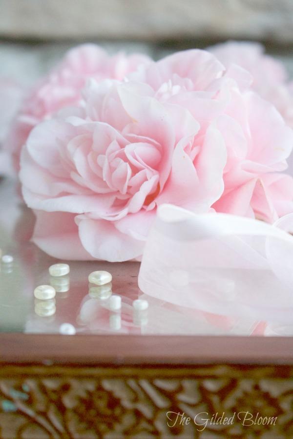 Pink Camellia www.gildedbloom.com #floralphotography