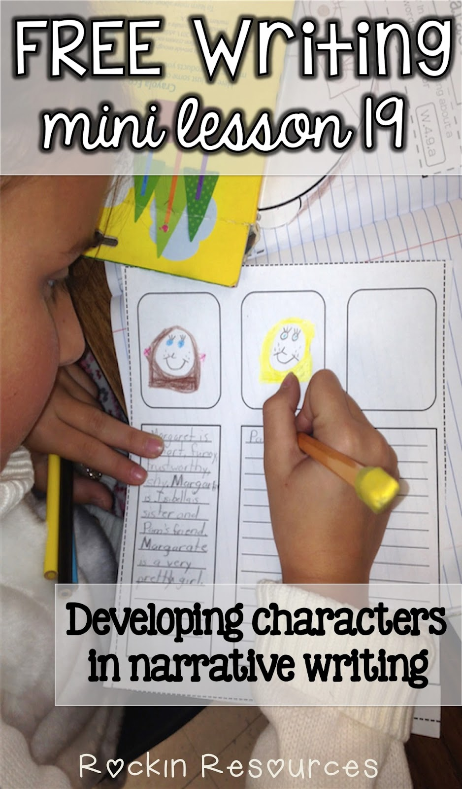 writing mini lesson developing characters in a narrative writing mini lesson 19 developing characters in a narrative essay