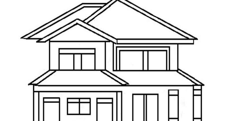 7200 Koleksi Gambar Rumah Tingkat Mewarnai Gratis Terbaru Gambar Rumah