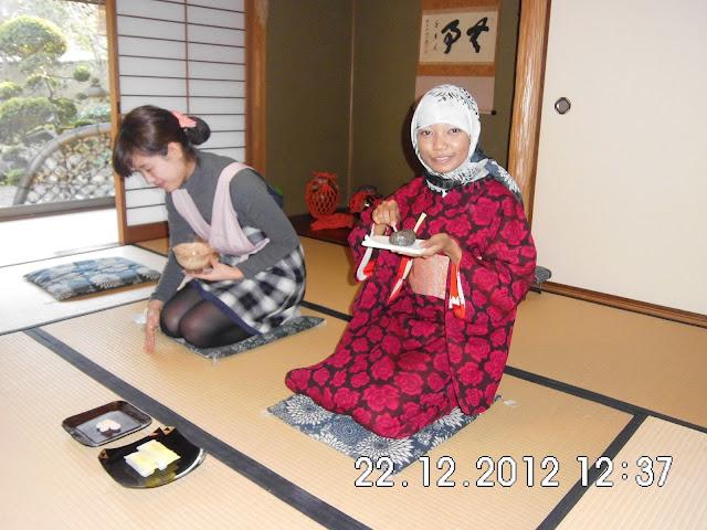 Proses Upacara Minum Teh di Jepang