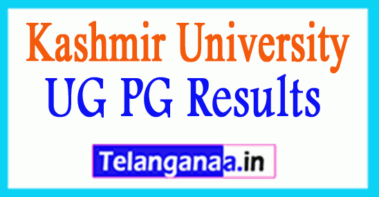 Kashmir University UG PG Results