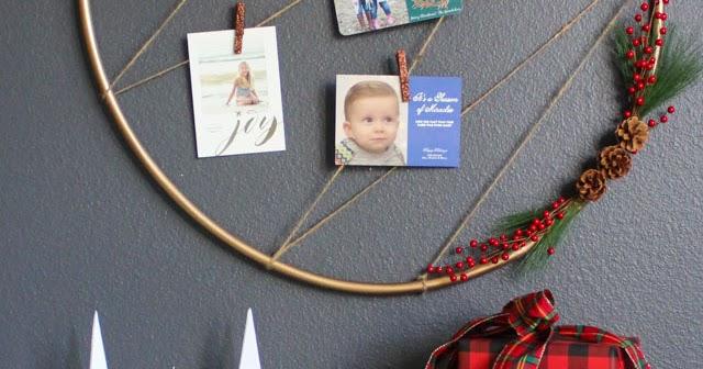 Christmas Card Display Holder