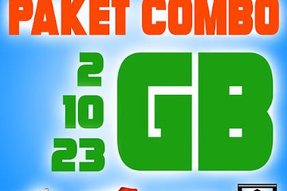 Paket Combo Telkomsel 2GB, 10GB dan 23GB