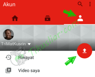 Cara Mudah Upload Video Ke Youtube Lewat HP Android