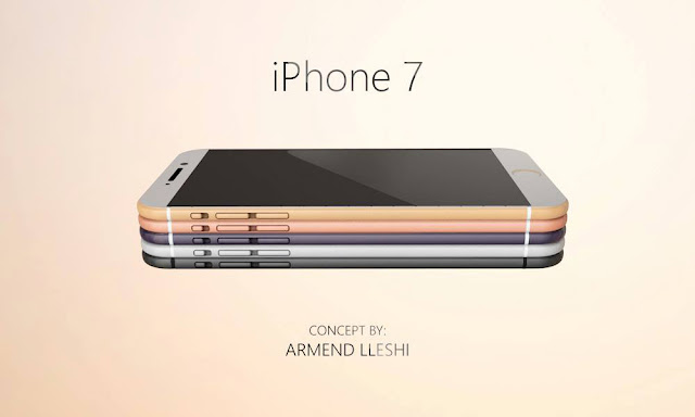Apple iPhone 7 Concept By Armend Lleshi