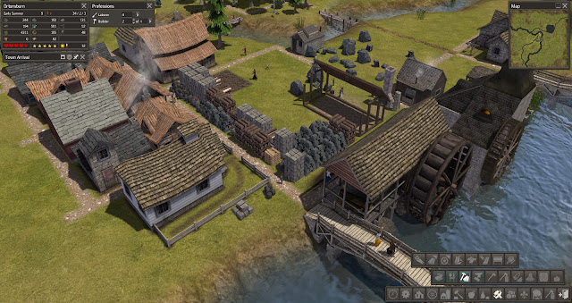 Town Stock | Banished Screenshot