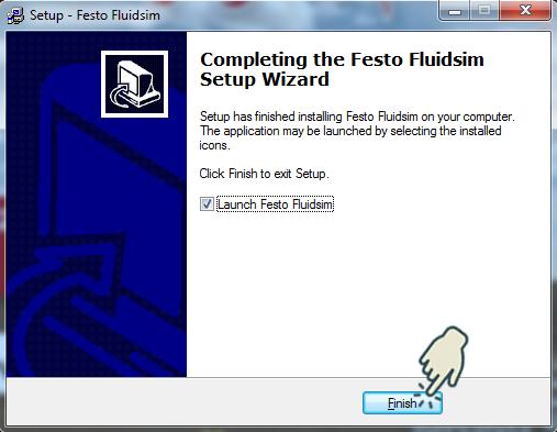 Gambar 10 : Install Festo FluidSIM