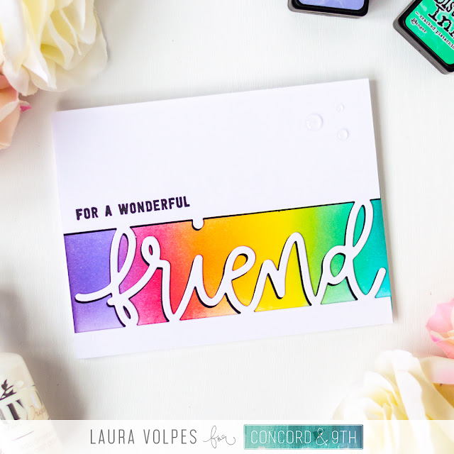 Clean and Simple Friendship Card for Beginners