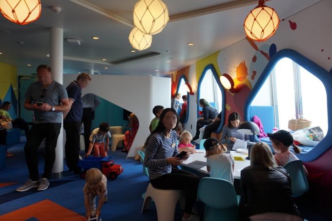 Megastarin leikkihuone, Tallink Silja - lasten kanssa risteilyllä Helsingistä Tallinnaan