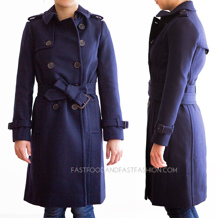Review : J. Crew Coats : Wool-Cashmere Icon Trench / Wool Melton