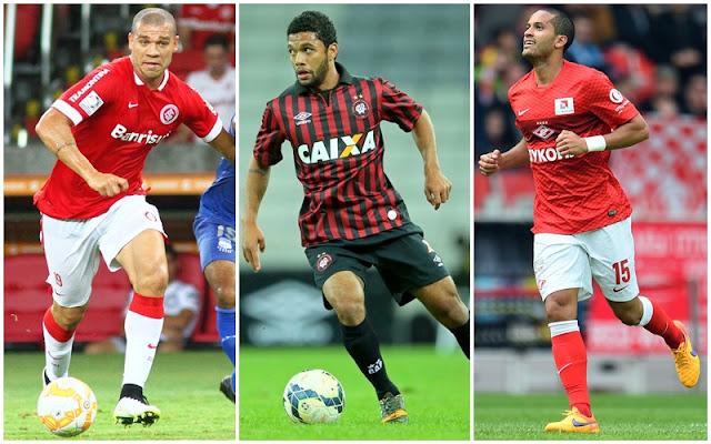 Al�m de Felipe Melo, Flamengo estuda outros tr�s volantes
