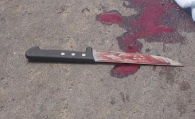 ALAGOINHAS: Inconformado com separação, homem tenta matar a ex-esposa a facadas