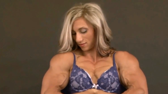 Clip Female Extreme Bodybuilder. How to Get Big Forearms. Women & Men