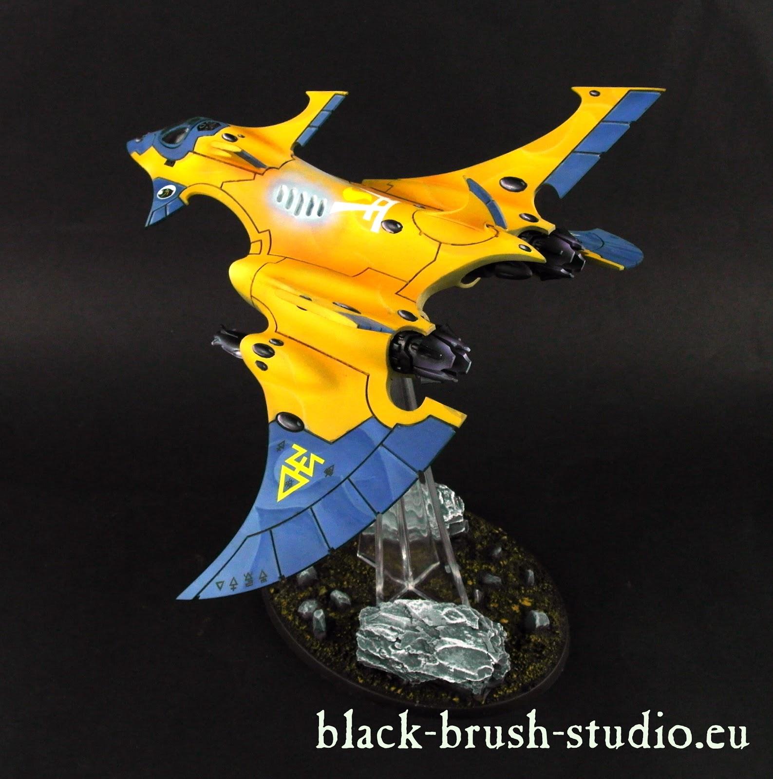 Iyanden Wraithknights & Crimson Hunter Exarch